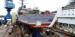 Destroyer USS Daniel Inouye (DDG 118)