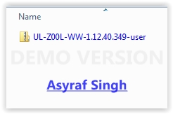 OTA update Asus zenfone