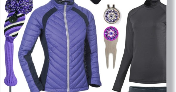 Pantone Color Of The Year 2018 & Ultra Violet Golf Fashion
