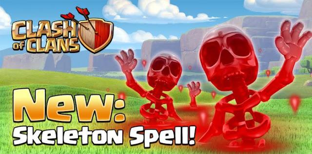 New skeleton spell