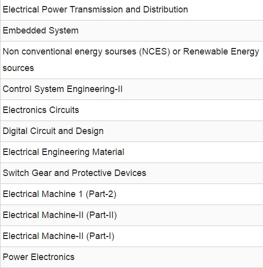 Electrical Engineering and EEE Study Materials Lecture Notes
