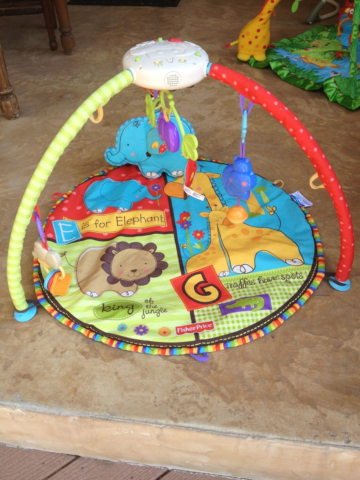 Baby Bargains Fisher Price Luv U Zoo Play Mat 30