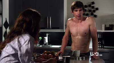 christopher gorham shirtless kitchen