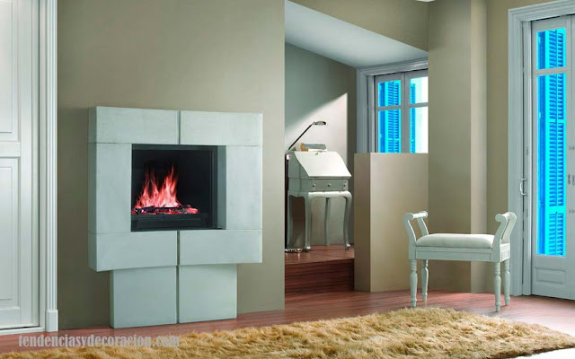 hogares-chimeneas con estilo
