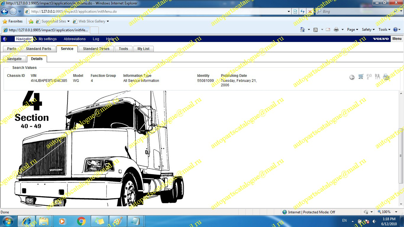 Trucks North America Electrical Wiring Documentation For Volvo 5912