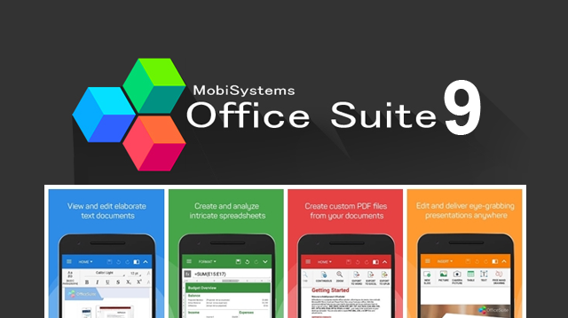 OfficeSuite 9 Pro Apk Full Premium Unlocked