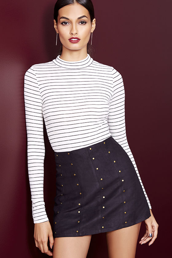 White Striped Beautiful Top