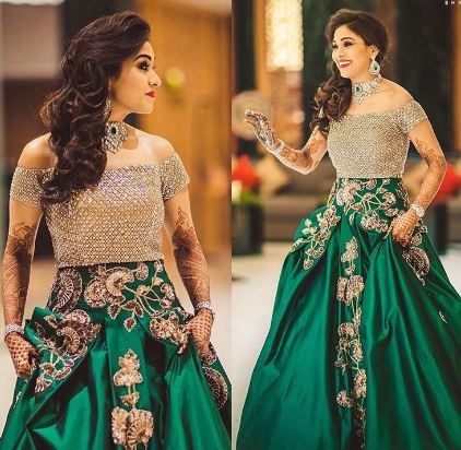indian bride for colection Color Wedding Dress modern