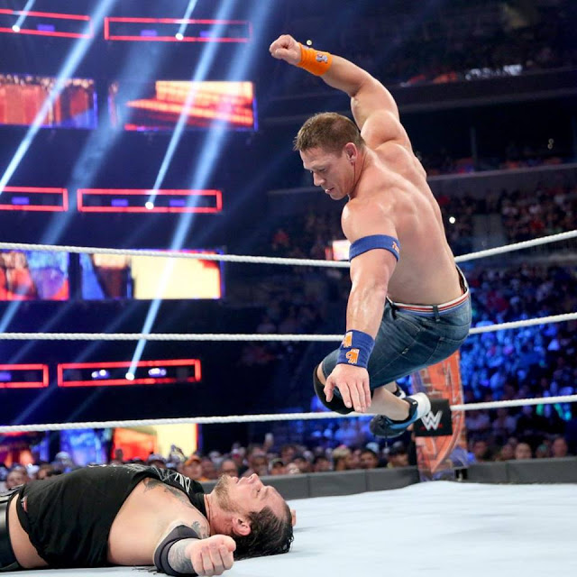 John Cena In Action HD Wallpaper
