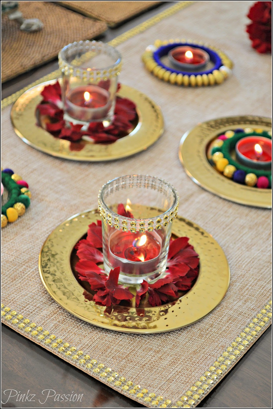 Pinkz Passion : A Dash of Glam on your table ( Diwali ...