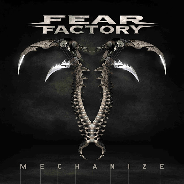 Fear Factory - Mechanize - cover