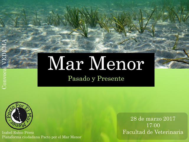 Conferencias sobre el Mar Menor.