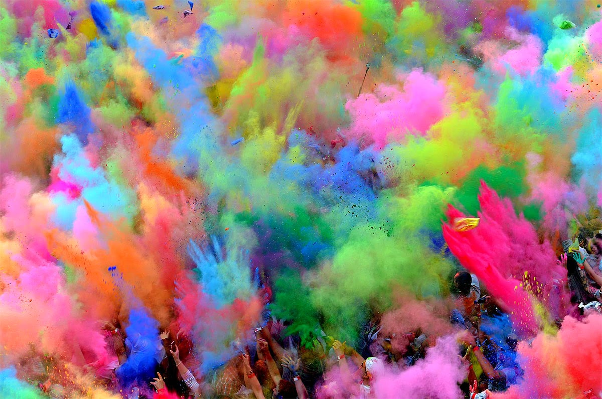 Happy Holi!!