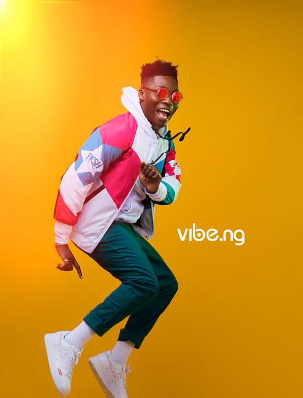 Reekado Banks steals the spot light on the covers of Vibe.ng Magazine