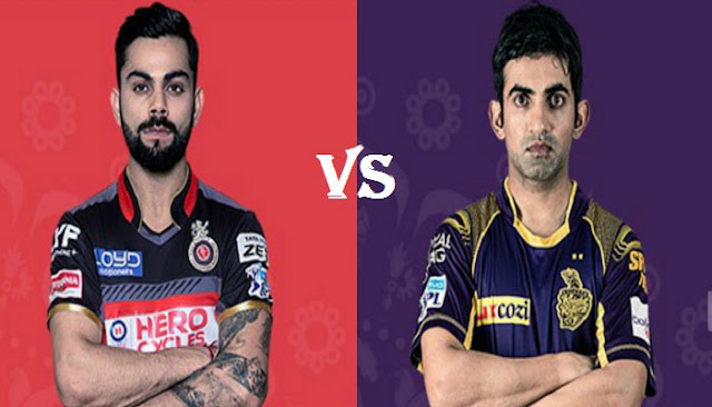 RCB vs KKR Highlights match 27 RCB Fall Of Wickets Highlights