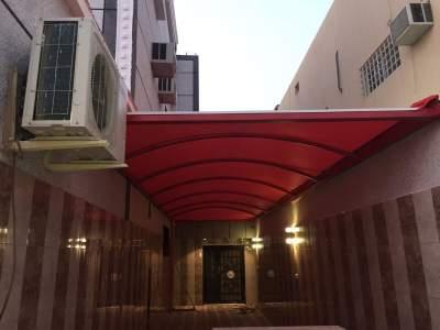 مظلات ابها انواع واشكال متوفرة لدينا من مؤسسة الابتكار السعودي للمظلات والسواتر
