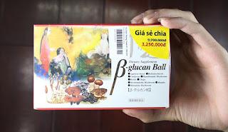Hieu qua bat ngo khi su dung Beta Glucan Ball
