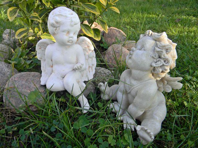 figury aniołów, święto Aniołów Stróżów