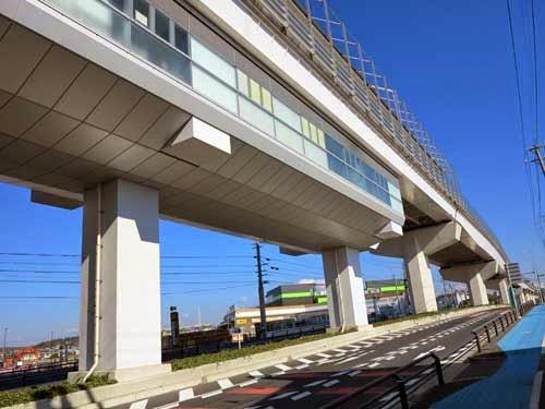 Nagakute Kosenjo Station, Nagoya, Aichi Prefecture, Japan.