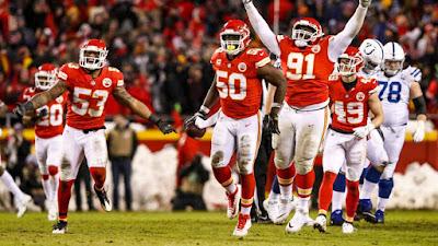 FÚTBOL AMERICANO (NFL Ronda Divisional 2019) - Cómo 'Jefes' ante Indianápolis