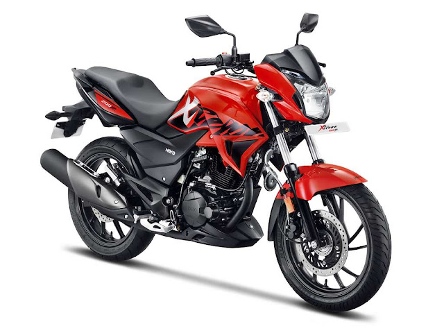 New 2018 Hero Xtreme 200R right side image