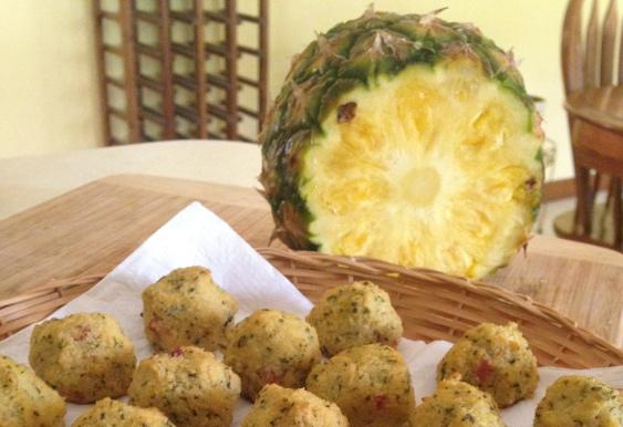 Paleo Cauliflower Hawaiian Balls Recipe
