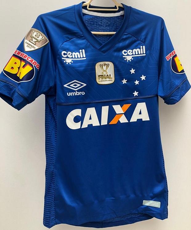 Cruzeiro divulga a camisa para a final da Copa do Brasil - Show de ... e14c6c2e94400