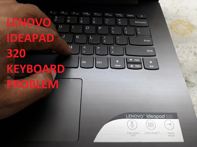 Fix Lenovo laptop keyboard problem