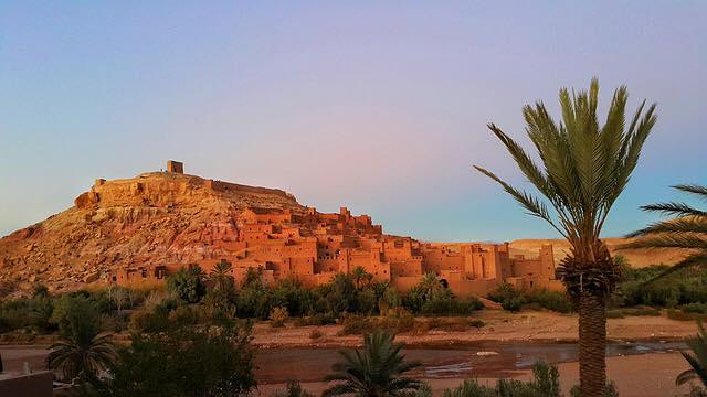 Ait Benhaddou hill