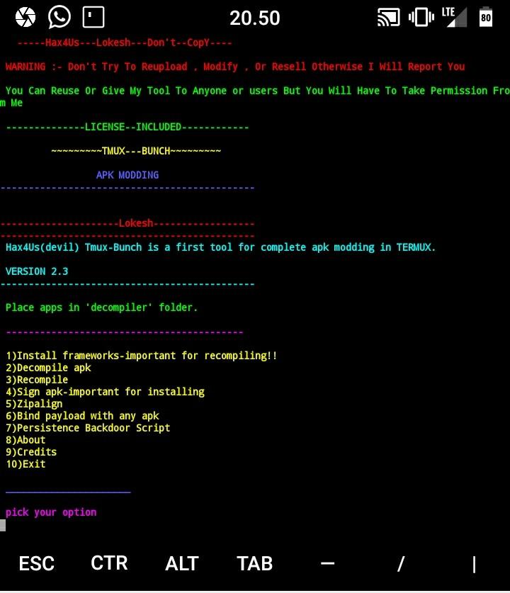 Cara Menyisipkan Backdoor Metasploit Ke Aplikasi Lain (Termux