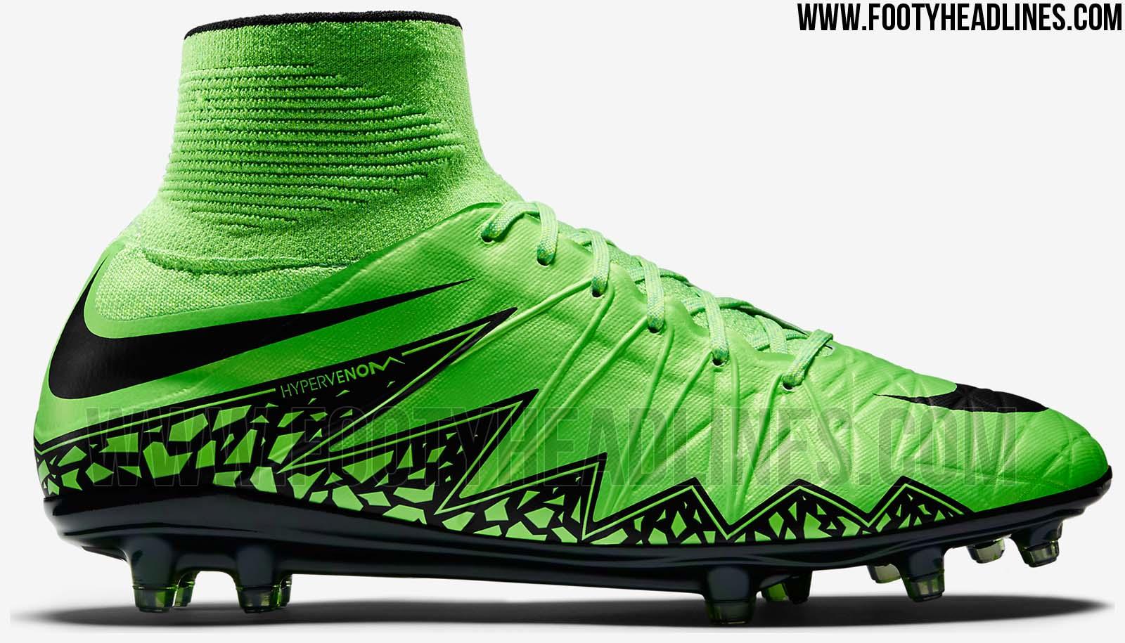 Grüne Nike Hypervenom II 2015 Fußballschuhe veröffentlicht ...
