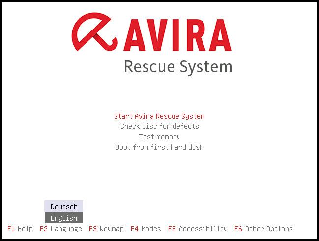 Hapus Virus Super Bandel di komputer dengan Avira Rescue System