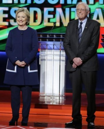 Sanders v Clinton 7th Democratic Debate 2016