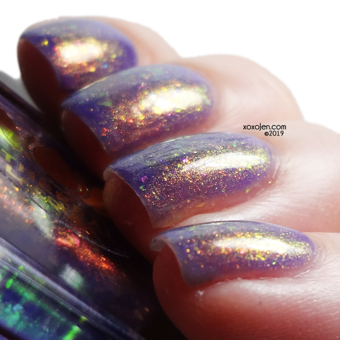xoxoJen's swatch of Ethereal Lacquer Nymph Wings