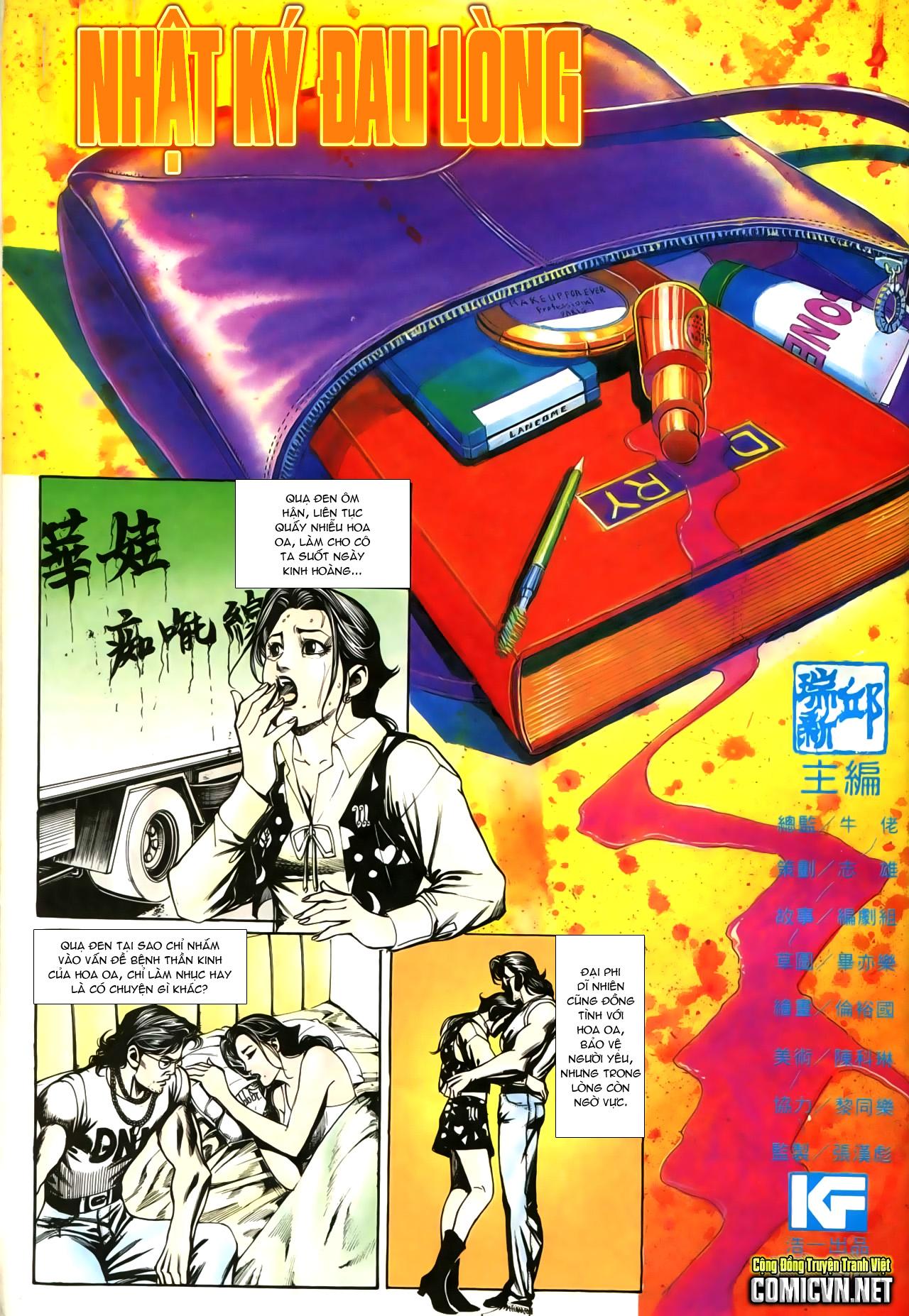 Người Trong Giang Hồ chapter 207: nhật ký đau lòng trang 2