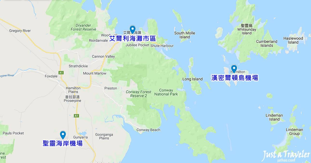 聖靈群島-艾爾利海灘-交通-巴士-公車-介紹-攻略-費用-路線-地圖-教學-接駁-機場-時刻-搭乘-Whitsundays-Airlie-Beach-Bus-Transport