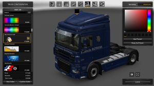 Francis Rosiére Skin for DAF XF