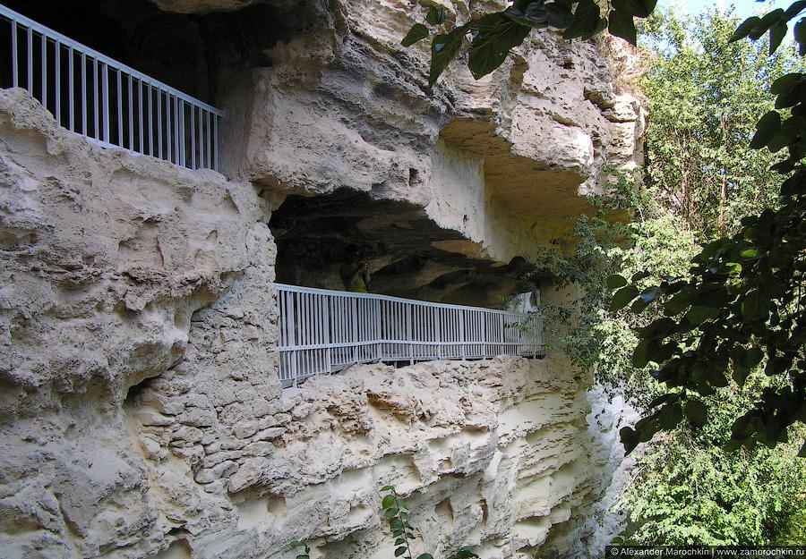Грот в монастыре Аладжа, Болгария