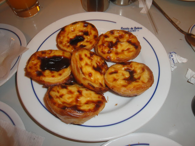 Pastel de Belém - Pastel de Nata - Lisboa - Torre de Belém - Comida típica portuguesa - Portugal
