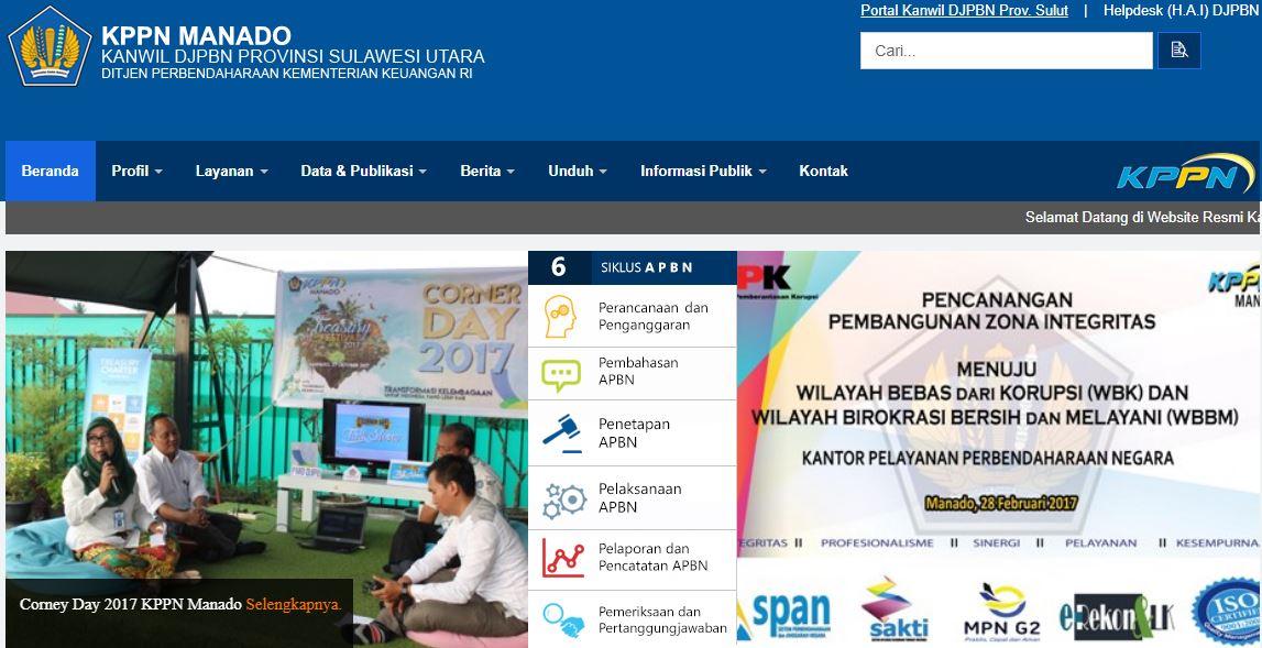 Alamat Lengkap Dan Nomor Telepon Kantor KPPN Di Sulawesi Utara