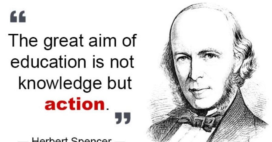 herbert spencer essays education Herbert spencer was a victorian philosopher classical liberal political theorist and sociological theorist spencer's theory on evolution shows a progressive development of the physical world, biological organisms, the human mind, and human culture and societies.