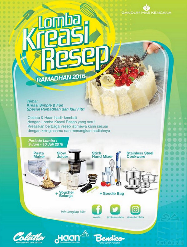 Lomba Kreasi Resep Ramadhan 2016