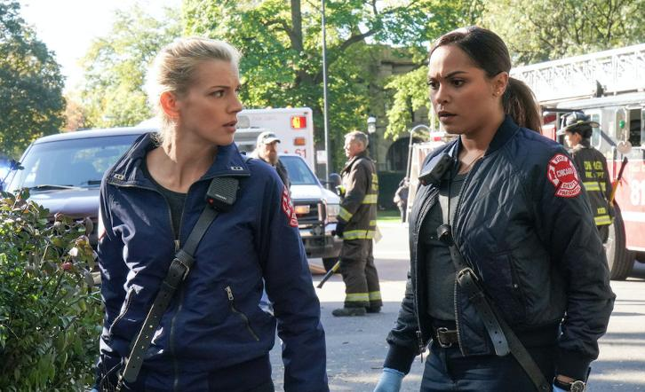 Chicago Fire - Episode 6.08 - The Whole Point of Being Roommates - Promo, 3 Sneak Peeks, Promotional Photos, Interview & Press Release