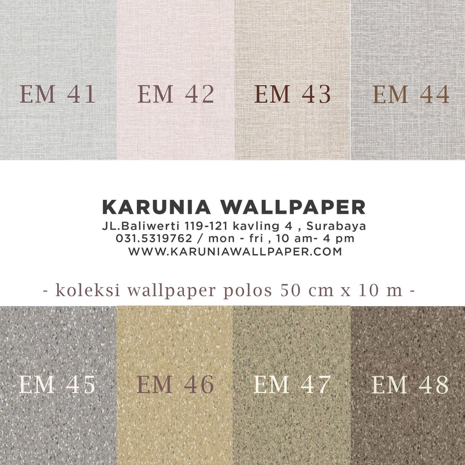 jual wallpaper polos surabaya karuniawallapper