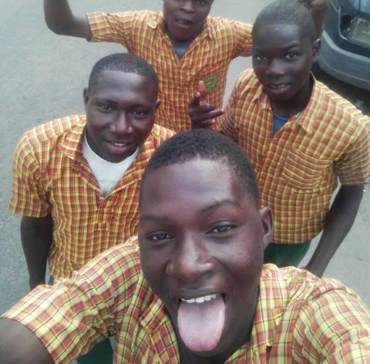 Secondary School Students Excited Amidst Suspension From School