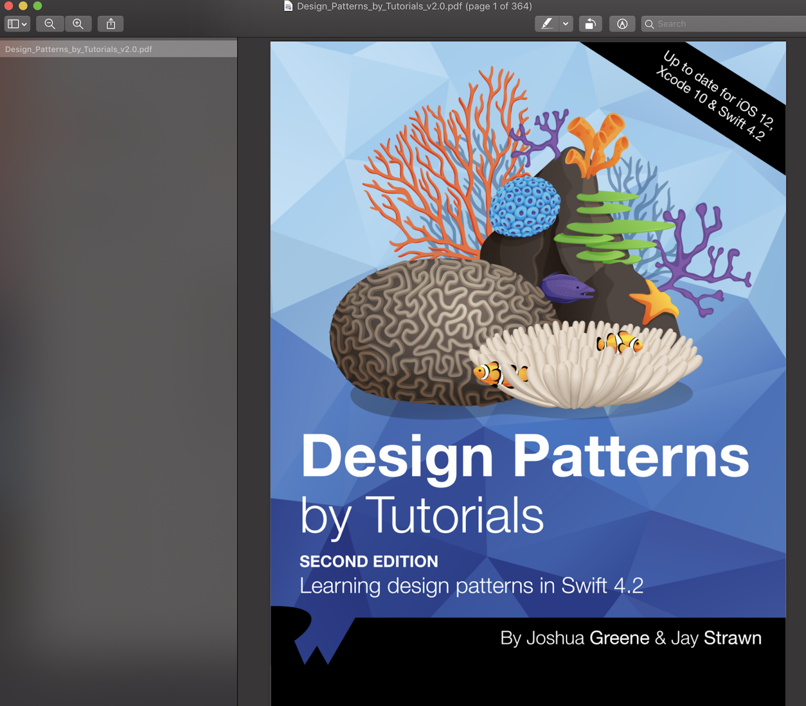 Design Patterns By Tutorials Pdf: Design Patterns by Tutorials Second Edition Update for Swift 4.2 and rh:prograbooks.com,Design