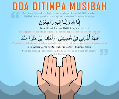 Doa Menghadapi Musibah