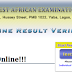 WAEC Online Result Verification Process - Verify WAEC Results Online