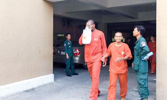 Photo: Nigerian man arraigned in Cambodia court for fraud