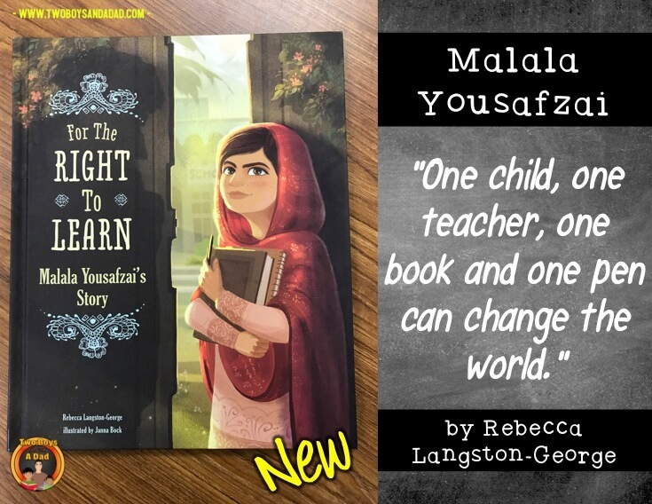 For the Right To Learn a new children's literature book